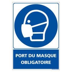 PANNEAU PORT DU MASQUE OBLIGATOIRE (E0702)