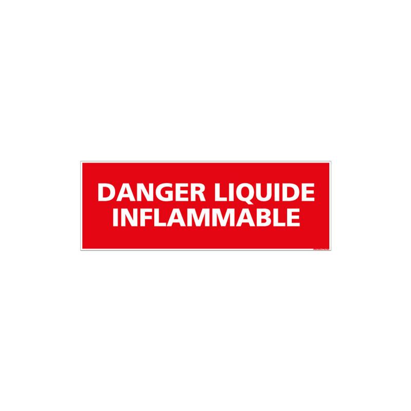 PANNEAU DANGER LIQUIDE INFLAMMABLE (A0431)