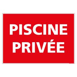 PANNEAU PISCINE PRIVEE (D1105)