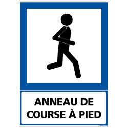 PANNEAU ANNEAU DE COURSE A PIED (F0219)