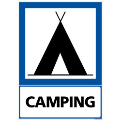 PANNEAU INFORMATION CAMPING (F0223)
