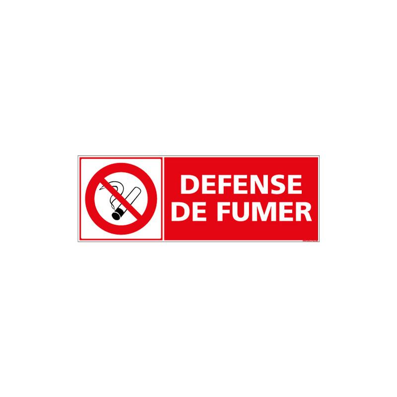 PANNEAU DEFENSE DE FUMER (A0439)