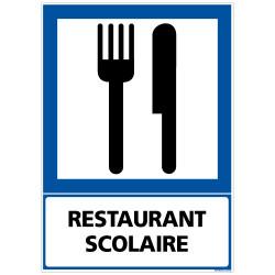 PANNEAU INFORMATION RESTAURANT SCOLAIRE (F0227)