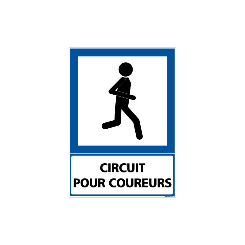 PANNEAU CIRCUIT POUR COUREURS (F0233)