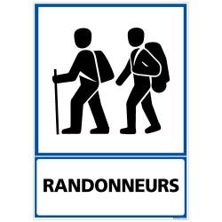 PANNEAU RANDONNEURS (F0277)