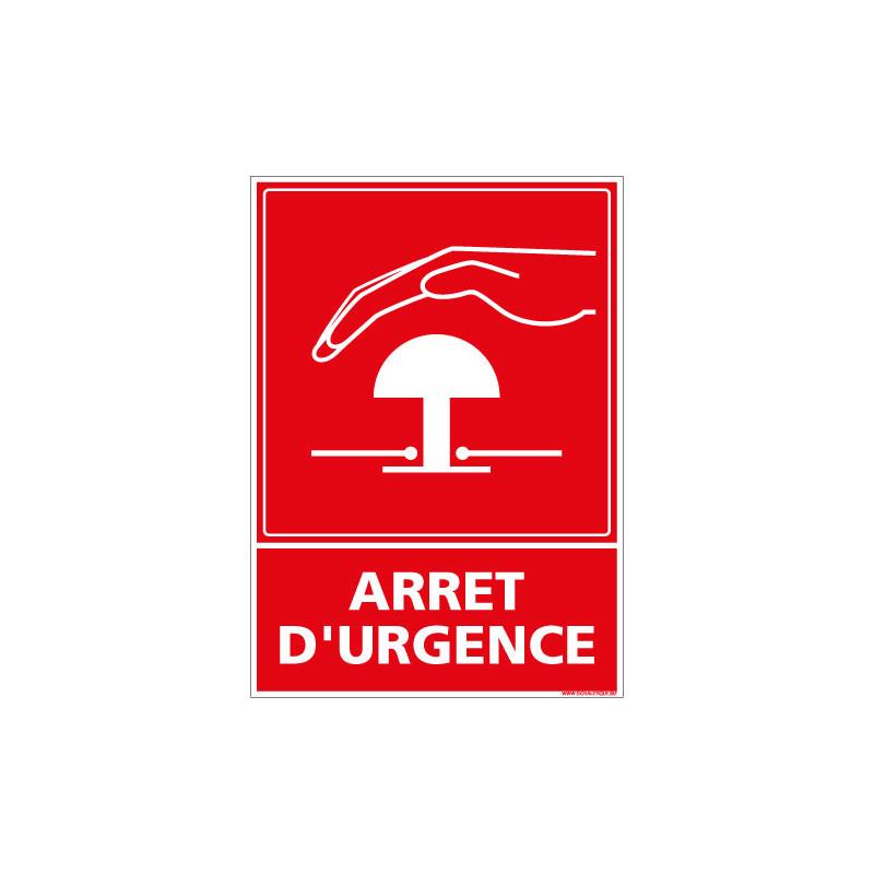 PANNEAU ARRET D'URGENCE (A0445)