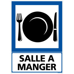 PANNEAU SALLE A MANGER (F0299)