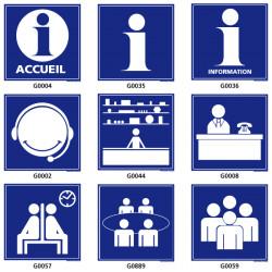 Panneau de Signalisation d'information et d'accueil