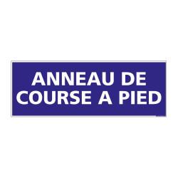PANNEAU SIGNALISATION INFORMATION ANNEAU DE COURSE A PIED