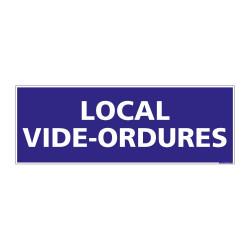 PANNEAU SIGNALISATION INFORMATION LOCAL VIDE-ORDURES