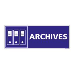 PANNEAU SIGNALISATION INFORMATION ARCHIVES (G0221)