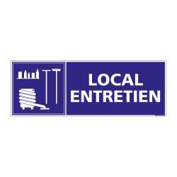 PANNEAU SIGNALISATION INFORMATION LOCAL ENTRETIEN (G0267)