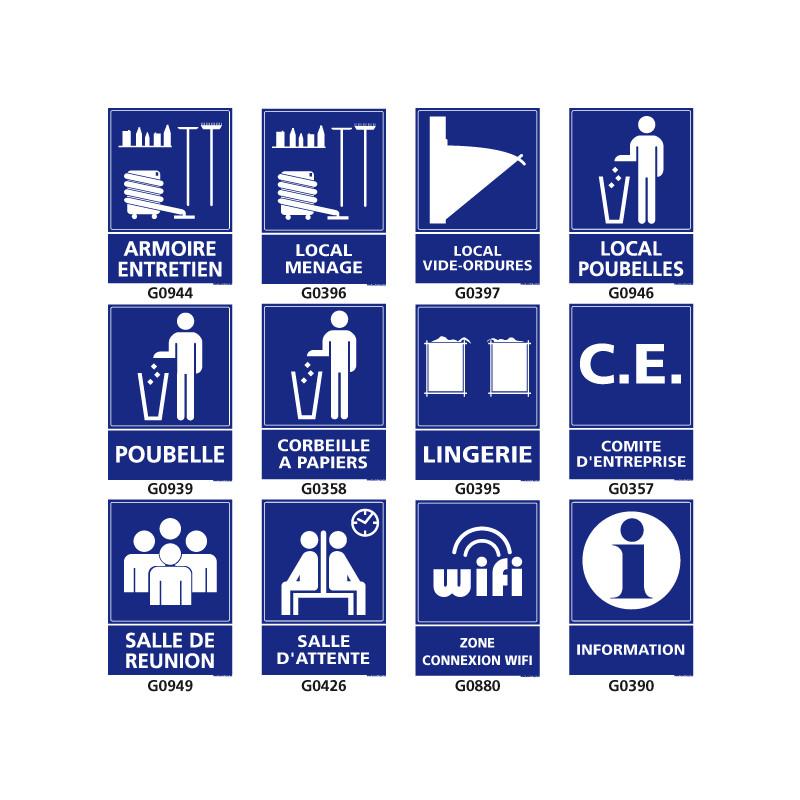 Signalisation d'information des locaux