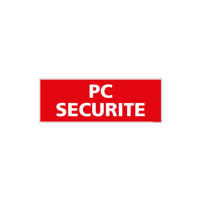 PANNEAU POSTE DE CONTROLE SECURITE (A0508)