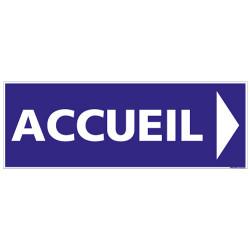 Panneau signalisation Accueil (G1279)