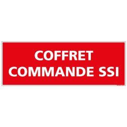 PANNEAU COFFRET SSI (A0515)