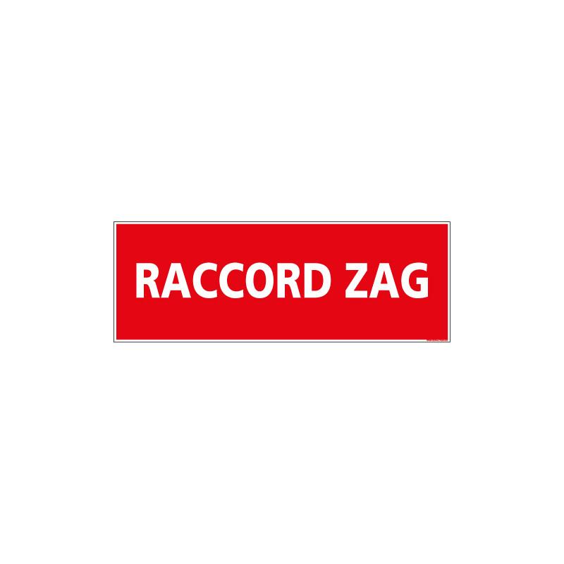 Panneau RACCORD ZAG (A0522)