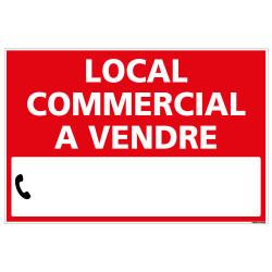 PANNEAU LOCAL COMMERCIAL A VENDRE AKYLUX 3,5mm - 600x400mm - LIVRE AVEC UNE PLANCHE DE CHIFFRES (G1340)