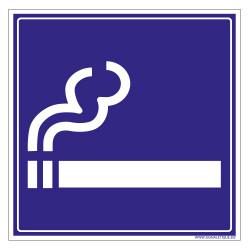PANNEAU ZONE FUMEUR (G1425)