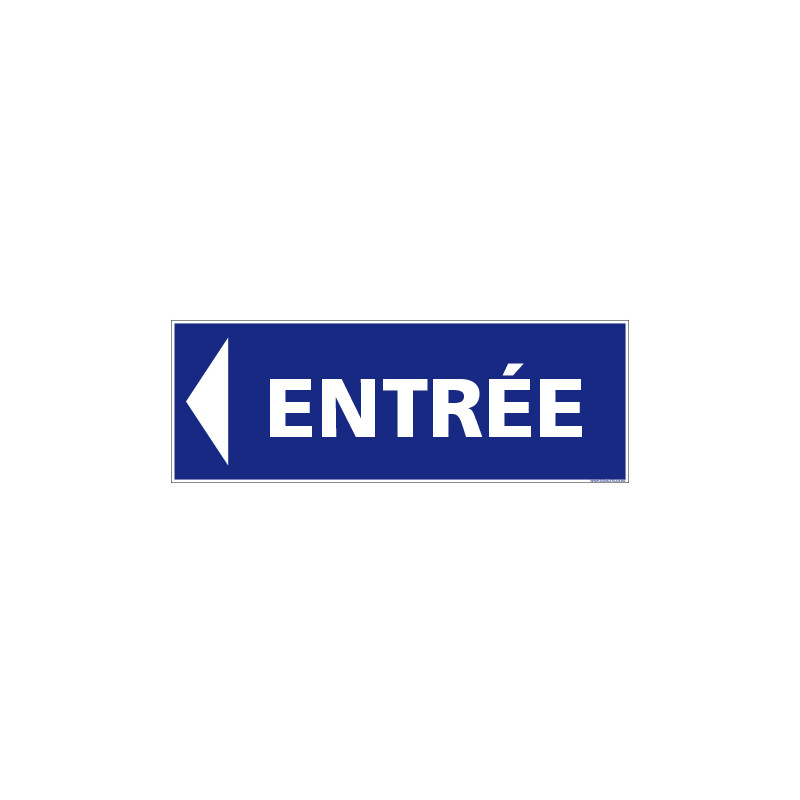 SIGNALISATION ENTREE VERS LA GAUCHE (G1593)