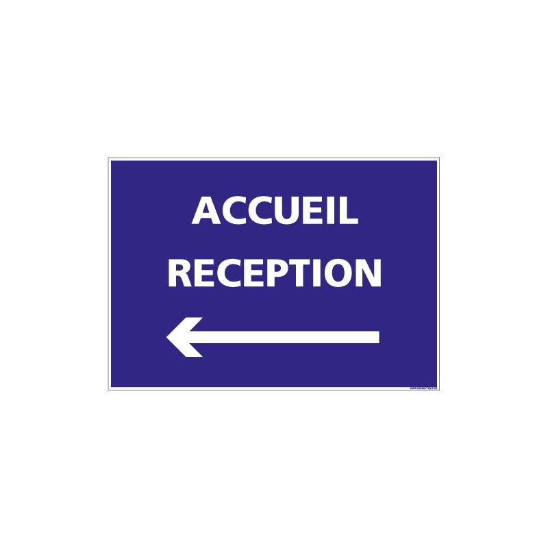 PANNEAU ACCUEIL RECEPTION (H0276)