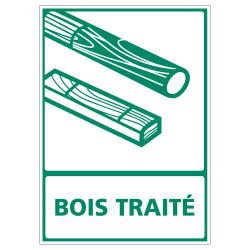 PANNEAU INFORMATIF BOIS TRAITE (I0879)