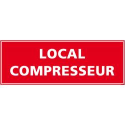 Panneau local compresseur (A0578)
