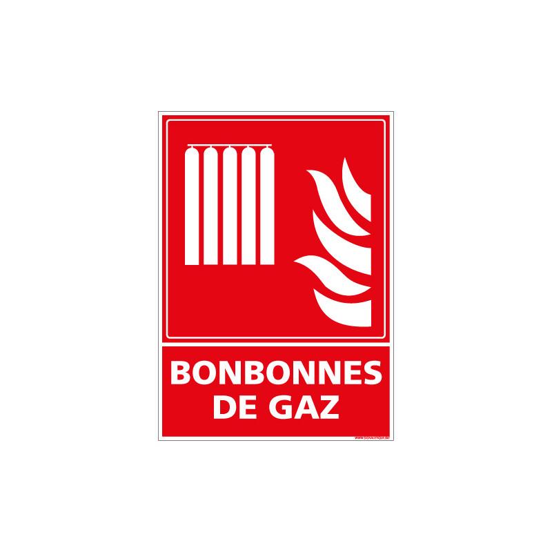 PANNEAU BONBONNES GAZ (A0604)