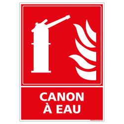 PANNEAU CANON A EAU (A0605)
