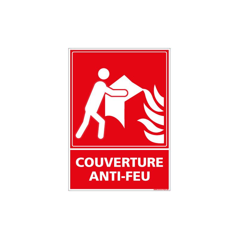 PANNEAU COUVERTURE ANTI-FEU (A0606)
