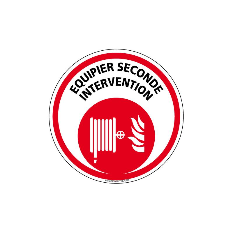 PANNEAU EQUIPIER DE SECONDE INTERVENTION (A0620)