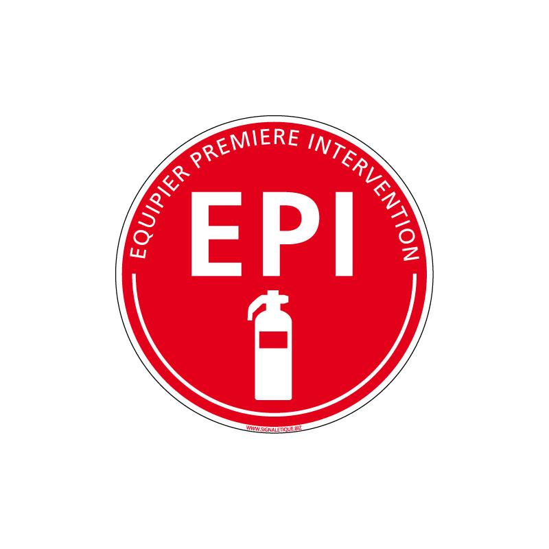 PANNEAU EPI - EQUIPIER PREMIERE INTERVENTION (A0621)