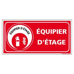 PANNEAU EQUIPIER D'ETAGE (A0624)