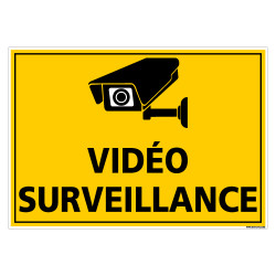 PANNEAU VIDEO SURVEILLANCE (C1478)