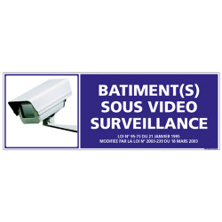 BATIMENT SOUS VIDEO SURVEILANCE (G0844)