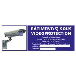 PANNEAU BATIMENT(S) SOUS VIDEOPROTECTION (G0845-LOI-B-NEW)