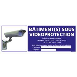 BATIMENT(S) SOUS VIDEO-PROTECTION (G1073)