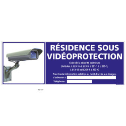 RESIDENCE SOUS VIDEO-PROTECTION (G1074)