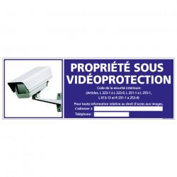 PROPRIETE SOUS VIDEO-PROTECTION (G1076)