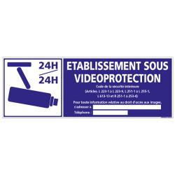 ETABLISSEMENT SOUS VIDEO-PROTECTION (G1078)
