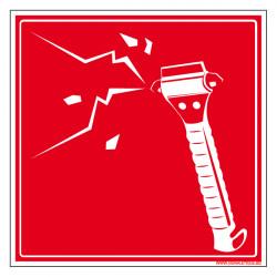 Panneau de Signalisation Brise Vitre (A0005)