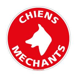 Visuel Chiens mechants (H0148)