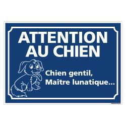 PANNEAU CHIEN GENTIL, MAŒTRE LUNATIQUE (H0346)