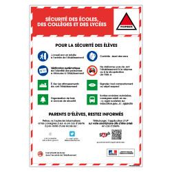 Panneau Securite des Ecoles, Colleges et Lycees (VIGIPIRATE9)