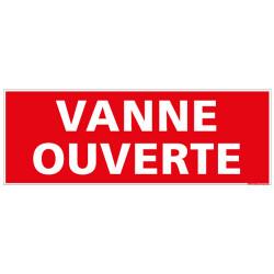 PANNEAU VANNE OUVERTE (K0357)
