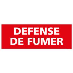 PANNEAU DEFENSE DE FUMER (D0096)