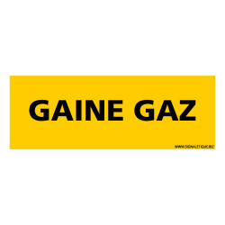 PANNEAU GAINE GAZ (K0363)