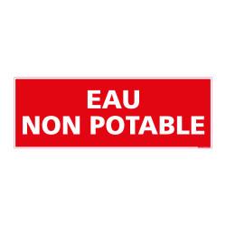 PANNEAU DE SIGNALISATION - EAU NON POTABLE (D0766)