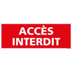 PANNEAU ACCES INTERDIT (D0774)