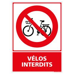 PANNEAU VELOS INTERDITS (D1205)